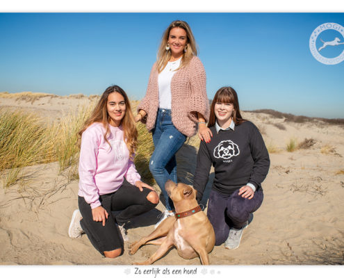 Gioia van Monique Westenberg met Daniëlle en Mila van Dogify Online